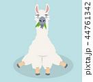 動物 かわいい キュートのイラスト 44761342