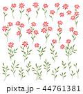 花 花柄 柄のイラスト 44761381
