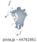 九州地図 44762861