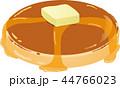 パンケーキ 菓子 ホットケーキのイラスト 44766023