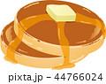 パンケーキ 菓子 ホットケーキのイラスト 44766024