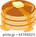 パンケーキ 菓子 ホットケーキのイラスト 44766025