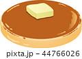 パンケーキ 菓子 ホットケーキのイラスト 44766026