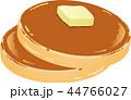 パンケーキ 菓子 ホットケーキのイラスト 44766027
