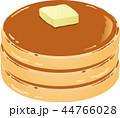 パンケーキ 菓子 ホットケーキのイラスト 44766028