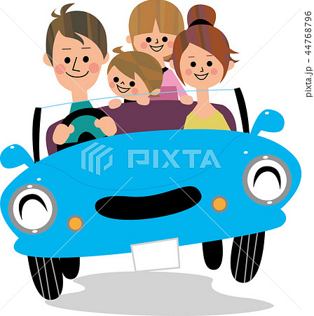 家族でドライブ 44768796