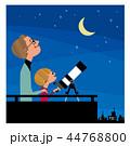 父と息子と天体観測 44768800