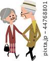 高齢者夫婦 44768801