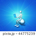 AI 人工知能 ツールのイラスト 44775239