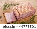 ブロックベーコン 44776501