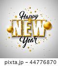 新 新しい 年のイラスト 44776870