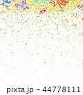 Colored Confetti Pattern 44778111