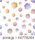 Snowflakes Seamless Pattern.  44778264