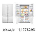 冷蔵庫 冷凍庫 冷房機器のイラスト 44778293