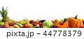 食 料理 食べ物のイラスト 44778379