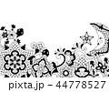 メキシカン 花柄 レースのイラスト 44778527