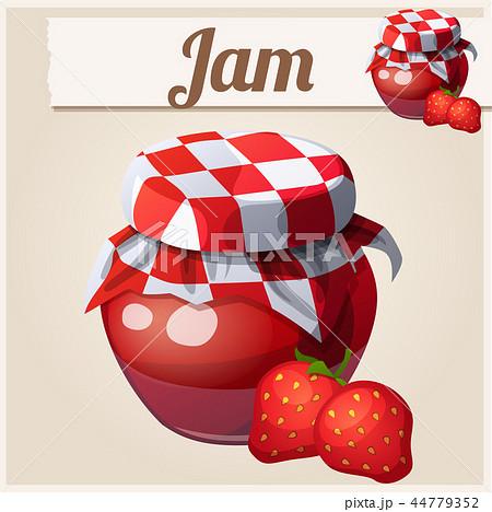 Strawberry Jam illustration 44779352