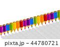 水彩画 えんぴつ エンピツのイラスト 44780721