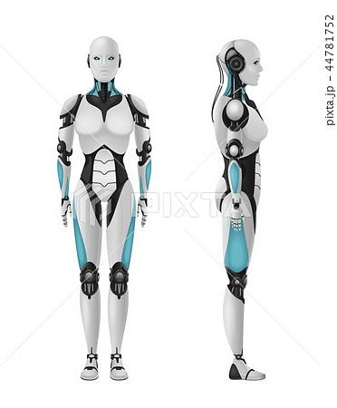 Realistic Female Droid Composition 44781752