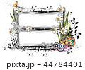 パターン 図形 装飾のイラスト 44784401