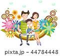 가족,사랑,일러스트 44784448