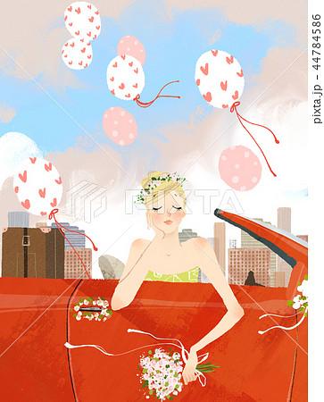 結婚 花嫁 女性 44784586