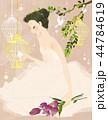 イラスト 結婚 水彩画のイラスト 44784619
