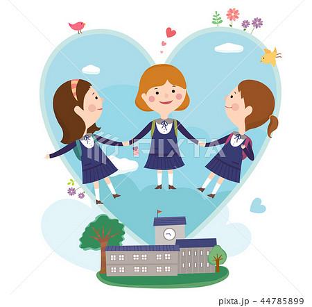 友達 友人 学生 44785899