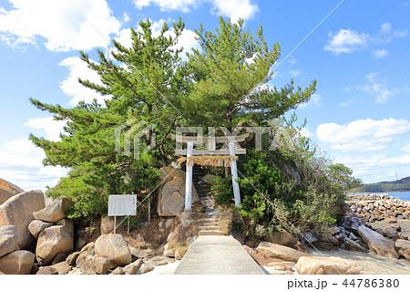 箱島神社 海に浮かぶパワースポット神社(福岡県糸島市) 44786380