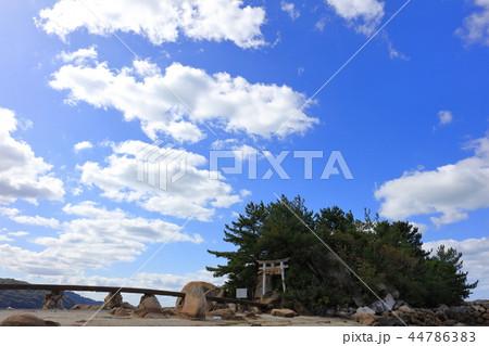 箱島神社 海に浮かぶパワースポット神社(福岡県糸島市) 44786383