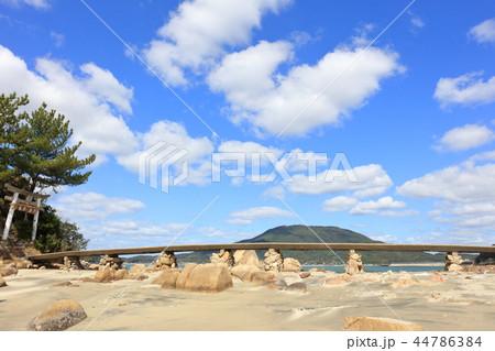 箱島神社 海に浮かぶパワースポット神社(福岡県糸島市) 44786384