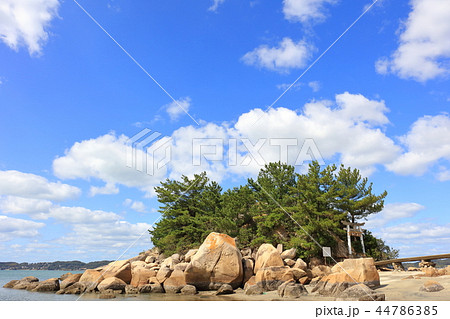 箱島神社 海に浮かぶパワースポット神社(福岡県糸島市) 44786385