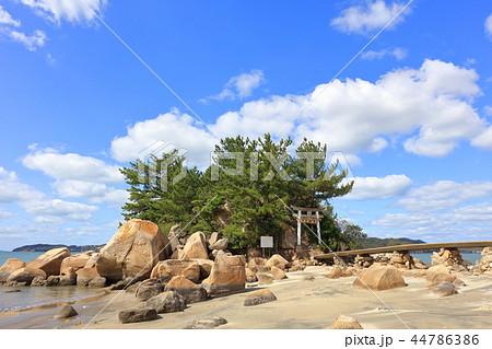 箱島神社 海に浮かぶパワースポット神社(福岡県糸島市) 44786386