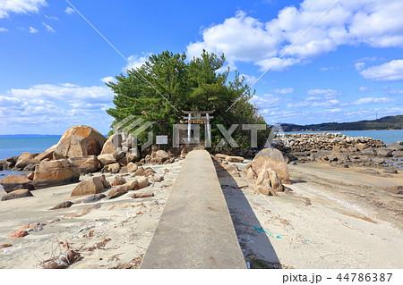 箱島神社 海に浮かぶパワースポット神社(福岡県糸島市) 44786387