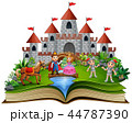ブック 書籍 本のイラスト 44787390