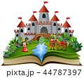 ブック 書籍 本のイラスト 44787397
