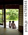 人物 二人 男の子の写真 44789648