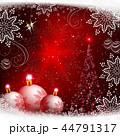 背景 クリスマス ゆきのイラスト 44791317