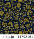 動物 バックグラウンド ドラゴンのイラスト 44792161