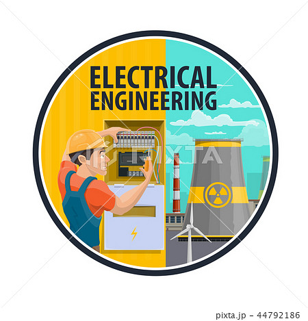 Electrical engineering, power plant, electrician 44792186
