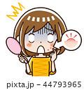 ニキビ 女性 44793965