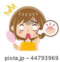 ニキビ 女性 44793969