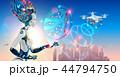 ロボット 女 女性のイラスト 44794750