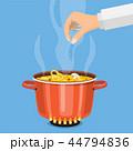 料理 鍋 食のイラスト 44794836