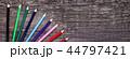 鉛筆 カラー 色の写真 44797421