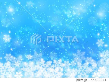 青の雪の結晶 44800051