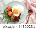 ロコモコ 食べ物 ロコモコ丼の写真 44800231