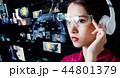 人物 ビッグデータ 通信の写真 44801379