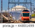 富士山と特急ロマンスカー 44801499