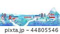 町並 街並 イラスト 風景 素材 44805546